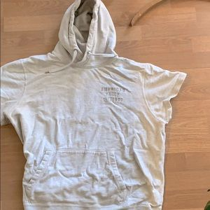 Short sleeved American Eagle hoodie